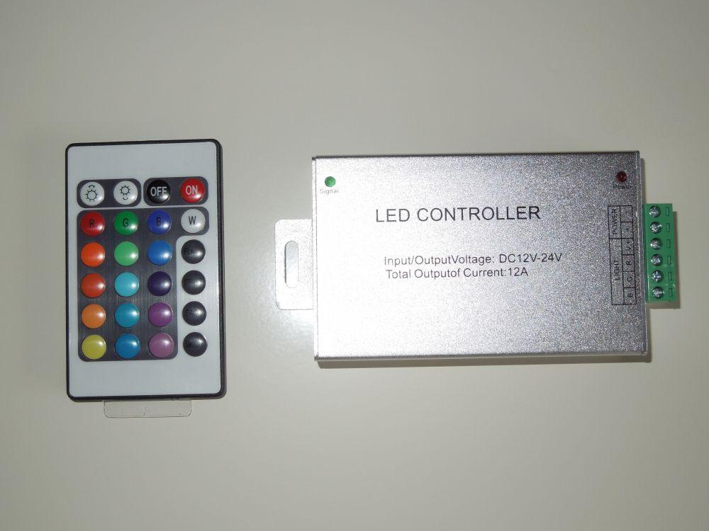 RGB kontroler RF 24-144W