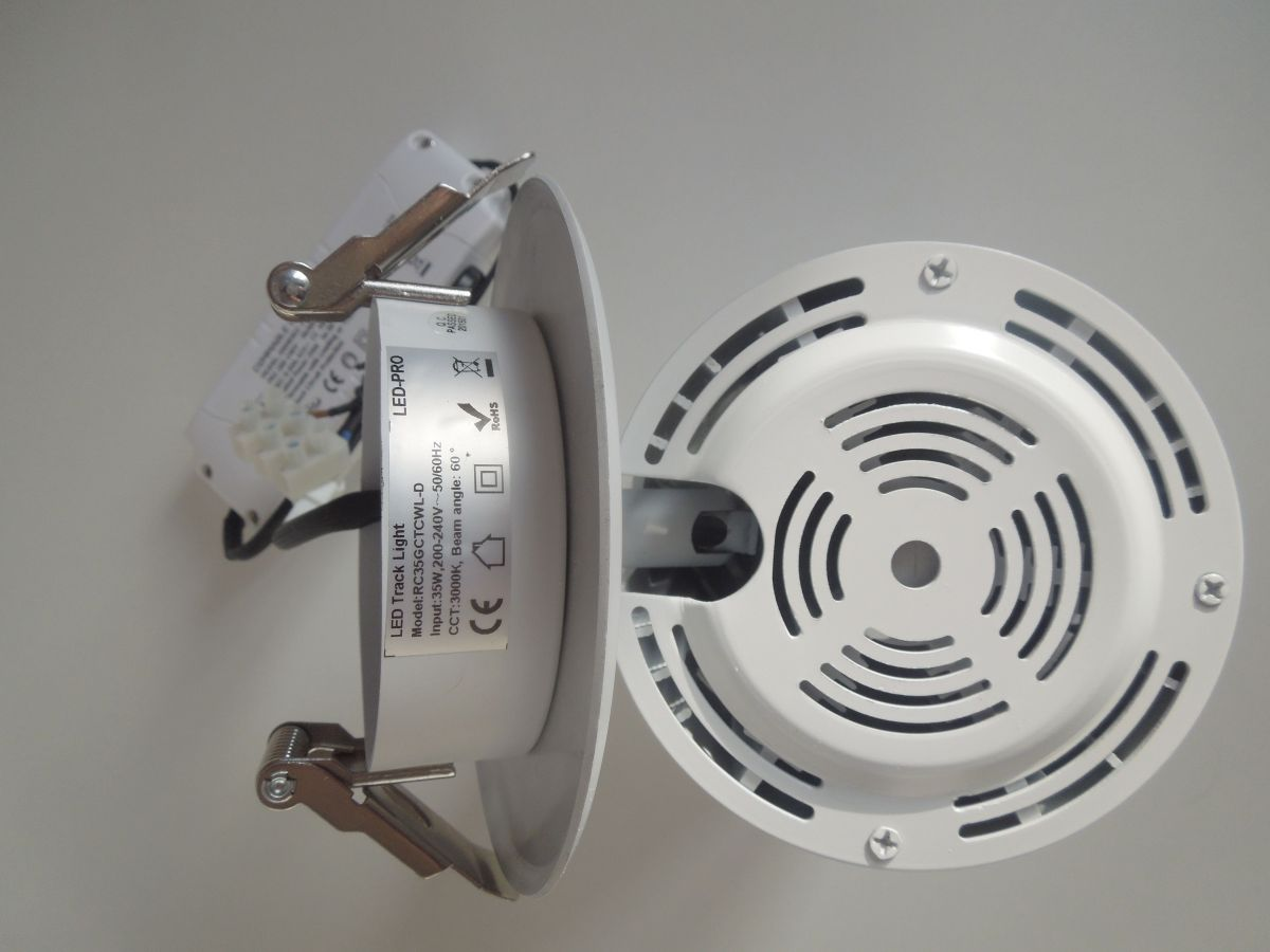 LED podhledové světlo 35W COB otočné naklápěcí