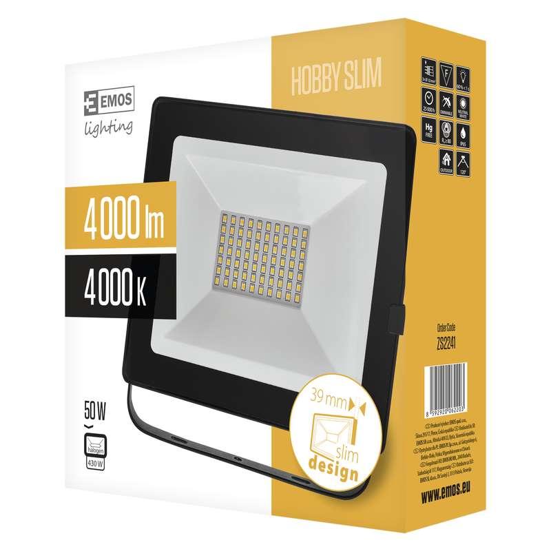 LED Reflektor 50W Hobby SLIM