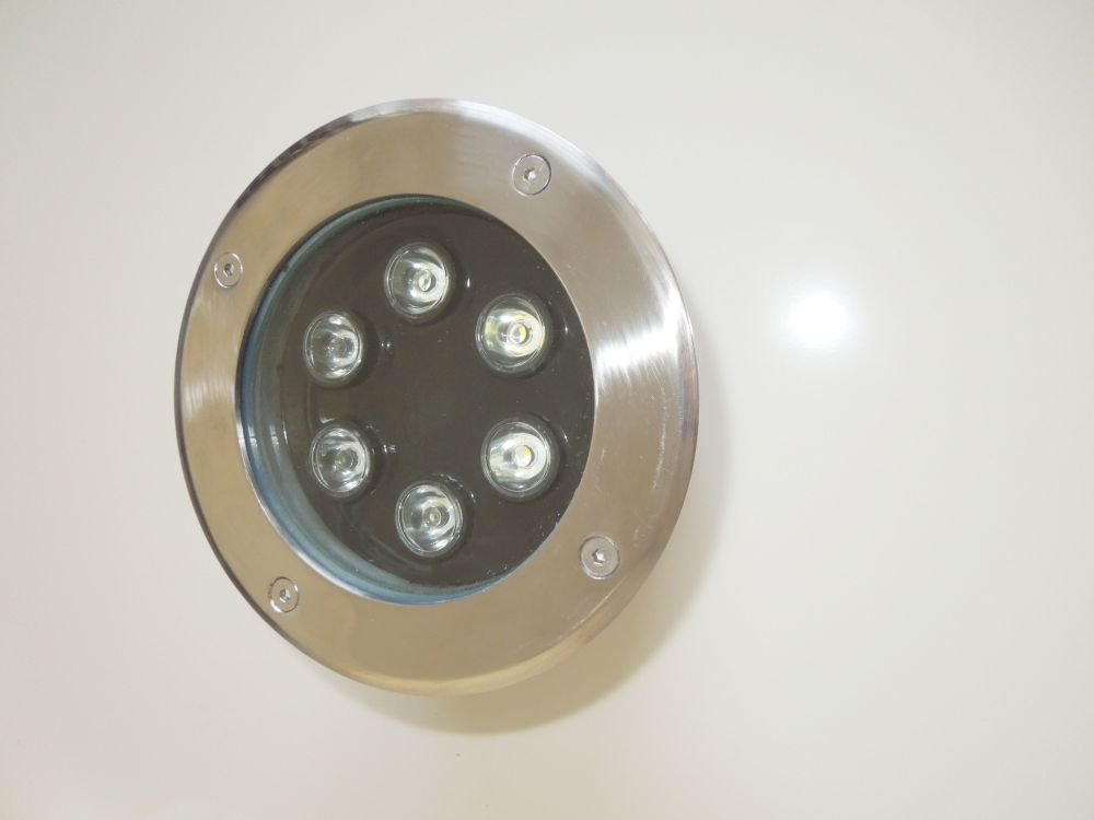 LED podlahové - nájezdové svítidlo 6W