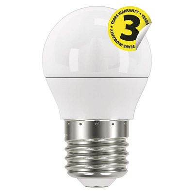 LED žárovka E27 6W MINI GLOBE