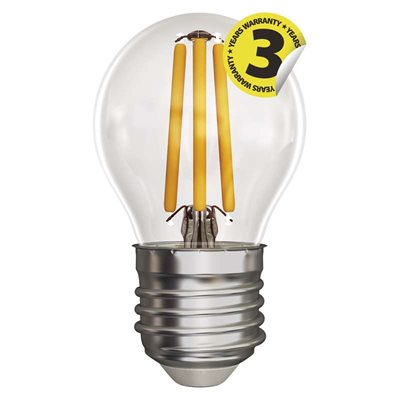 LED žárovka E27 4W MINI GLOBE