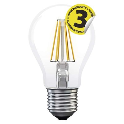 LED žárovka E27 6W FILAMENT A++
