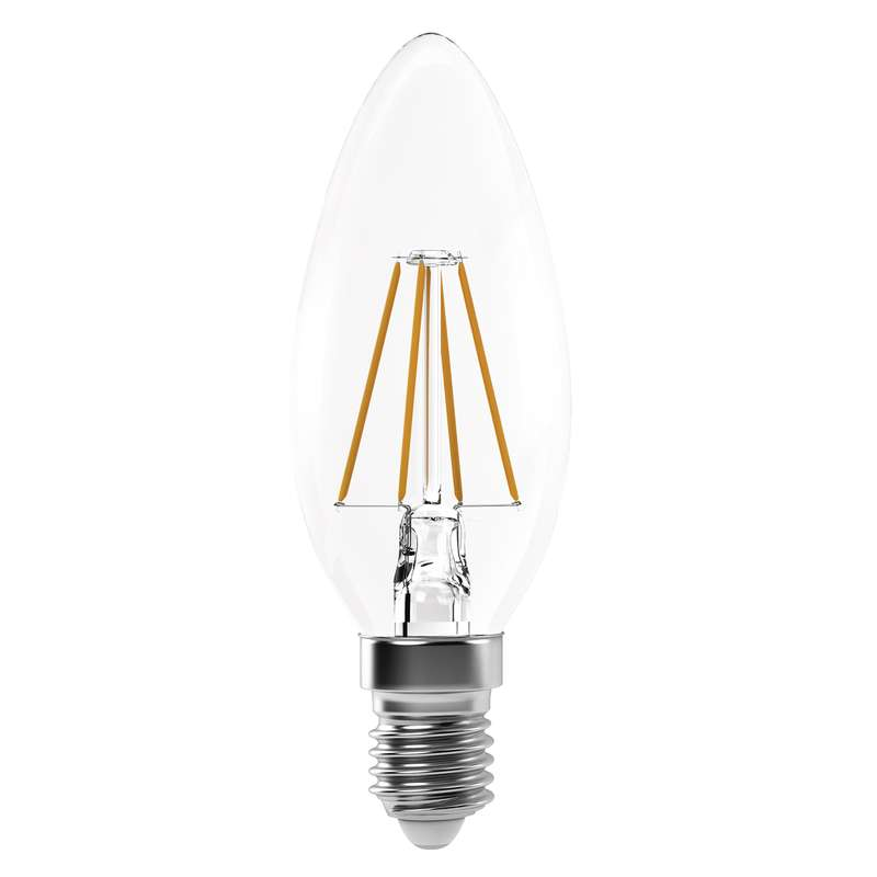 LED žárovka E14 4W Filament Candle