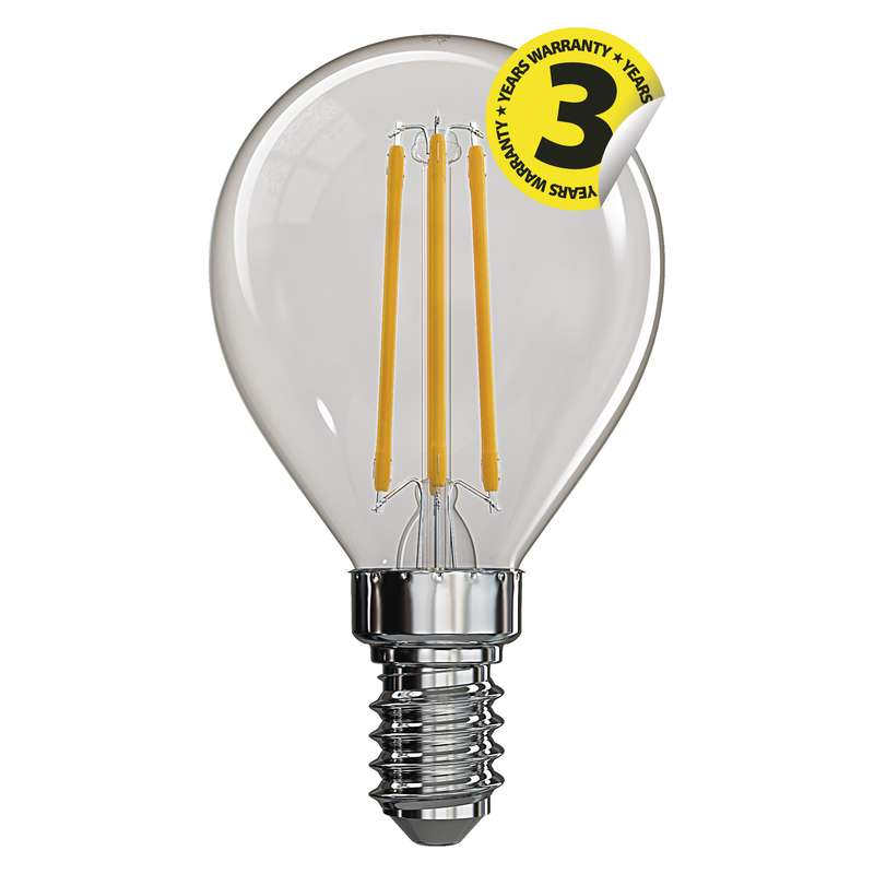 LED žárovka E14 4W MINI GLOBE