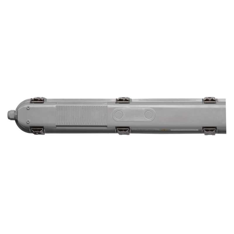 LED prachotěsné svítidlo 58W PROFI+ s klipem IP66 + NOUZOVÉ světlo