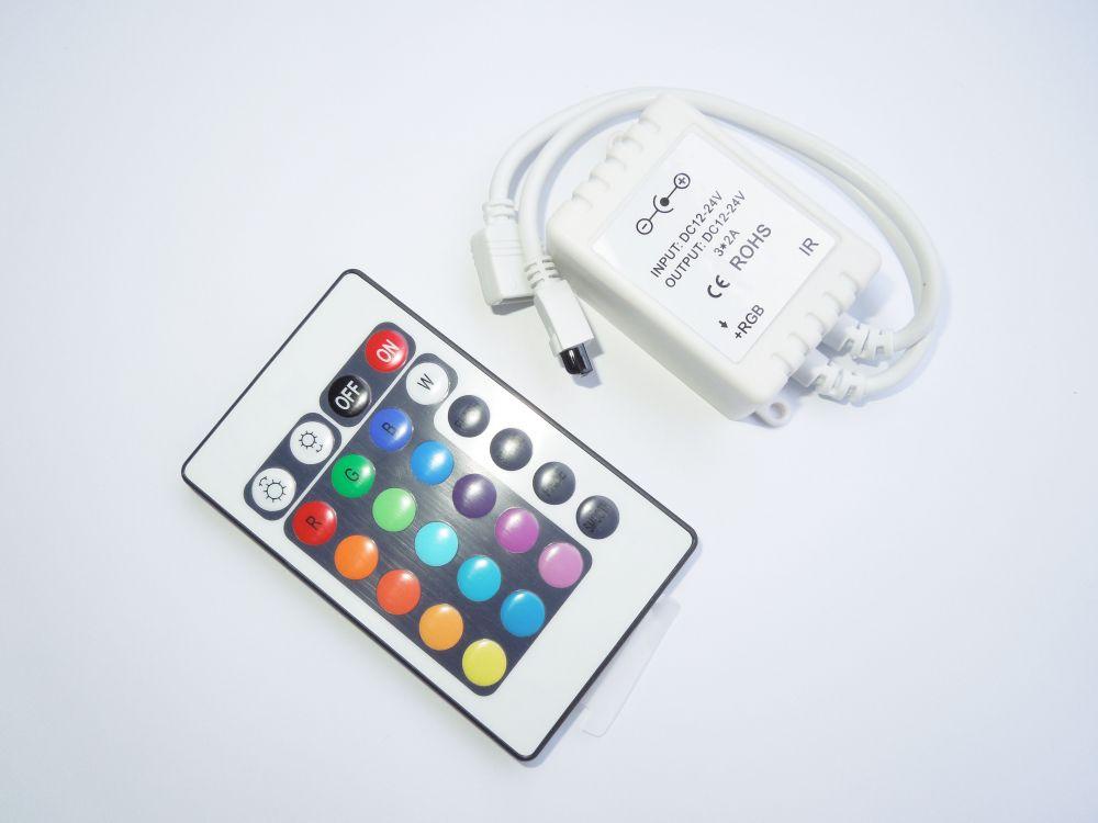 RGB kontroler IR 24