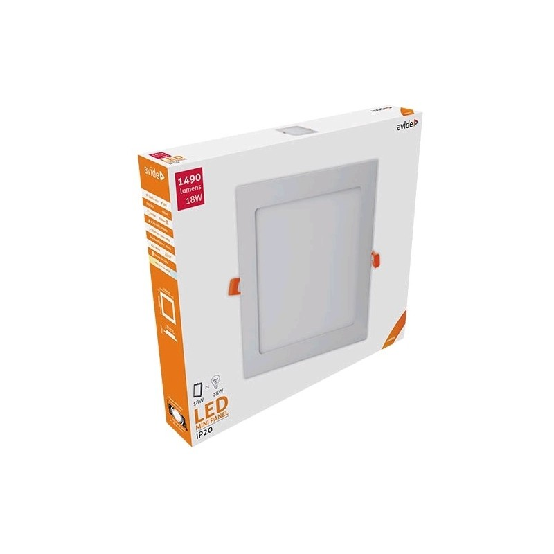 LED panel čtverec 18W