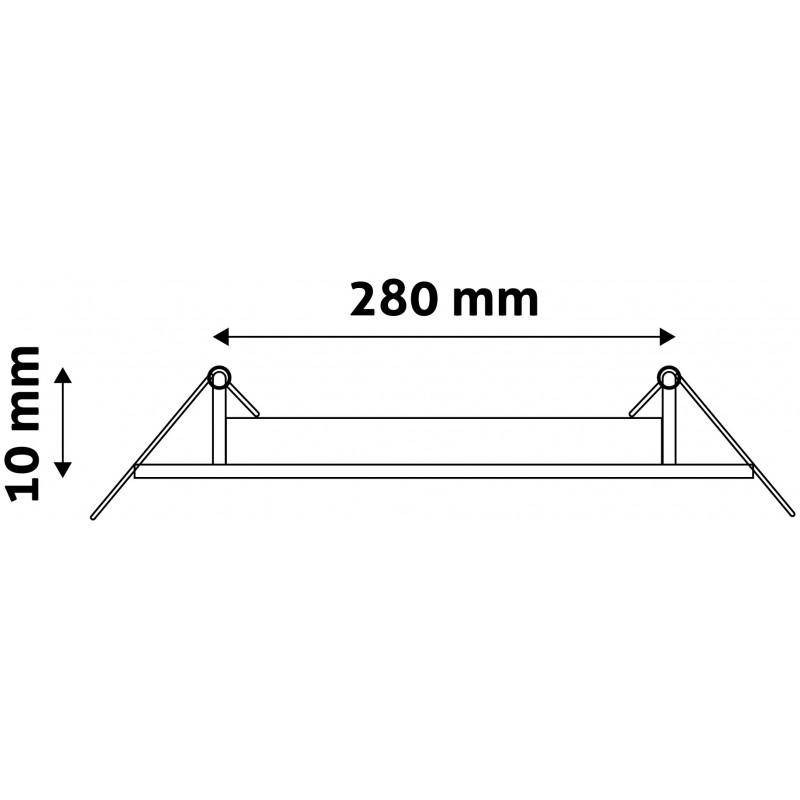 LED panel kruh 24W
