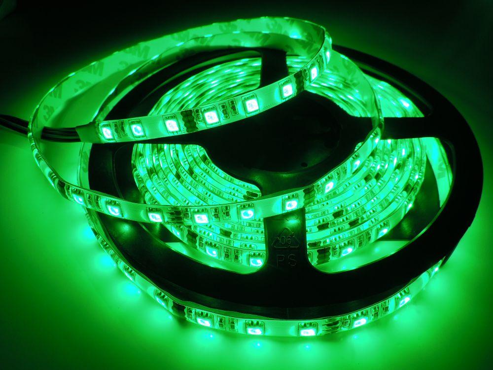 LED pásek 5050 60LED IP65 14,4W/ m RGB LS-5050-60L-IP65-RGB