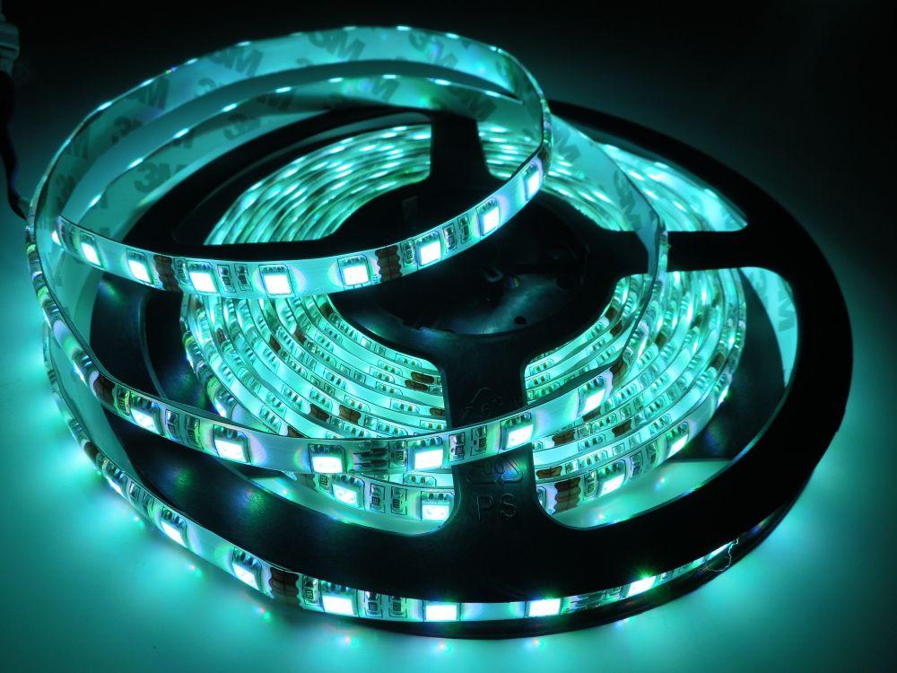 LED pásek 5050 60LED IP65 14,4W/ m RGB