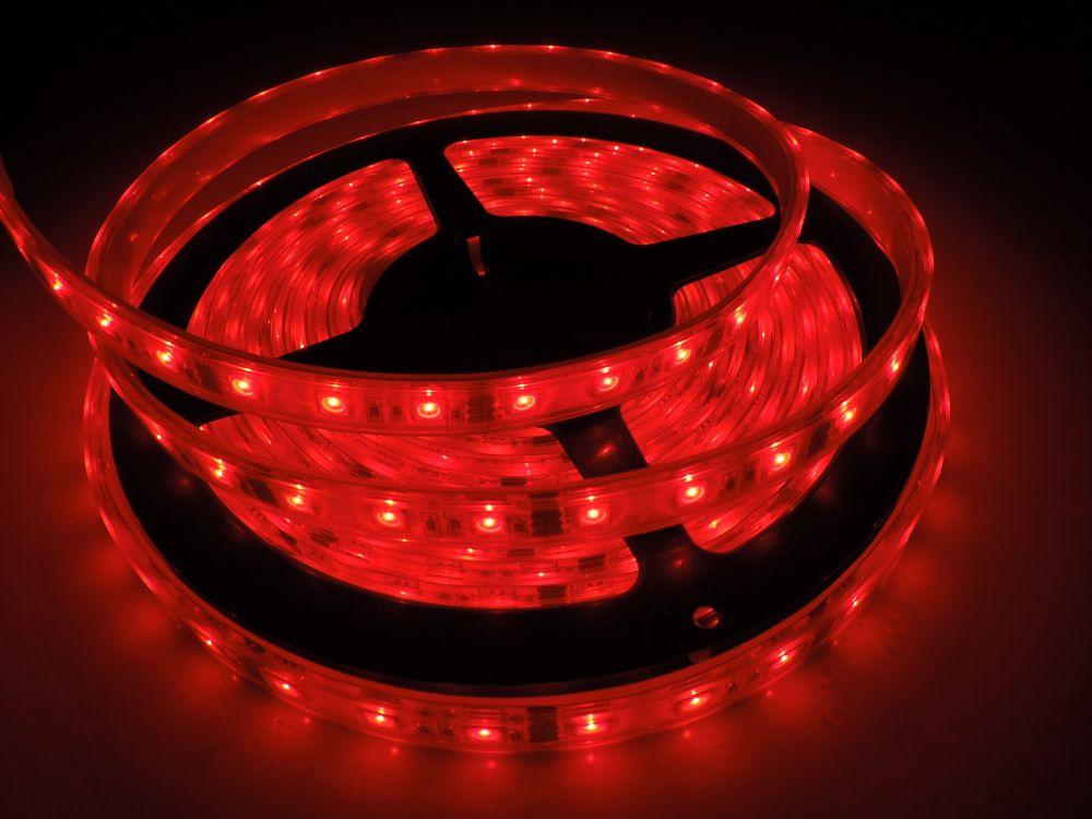 LED pásek 5050 60LED IP68 14,4W/ m RGB LS-5050-60L-IP68-RGB
